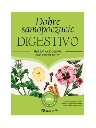 Obrazek Franciszkańska Herbatka Dobre Samopoczucie DIGESTIVO