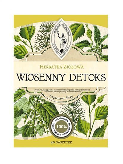 Obrazek Franciszkańska Herbatka ziołowa WIOSENNY DETOKS