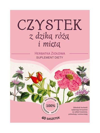 Obrazek Franciszkańska Herbatka CZYSTEK z dziką różą i miętą