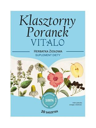 Obrazek Franciszkańska Herbatka KLASZTORNY PORANEK VITALO