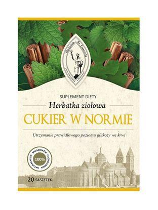 Obrazek Franciszkańska Herbatka ziołowa CUKIER W NORMIE