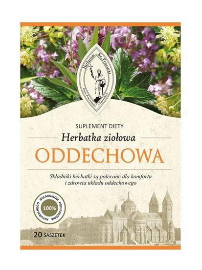 Obrazek Franciszkańska Herbatka ziołowa ODDECHOWA