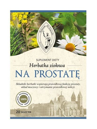 Obrazek Franciszkańska Herbatka ziołowa NA PROSTATĘ FIX