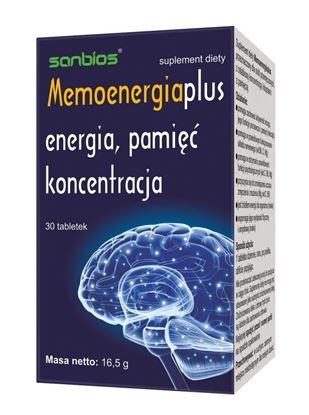 Obrazek Sanbios   MEMOENERGIA PLUS - energia, pamięć, koncentracja