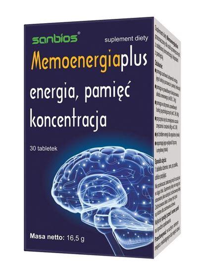 Obrazek Sanbios | MEMOENERGIA PLUS - energia, pamięć, koncentracja