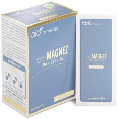 Obrazek Biofarmacja | Organiczny bioMagnez B6 B12 Cynk PREMIUM