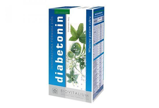 Obrazek Biovitalium | DIABETONIN - Właściwy poziom cukru