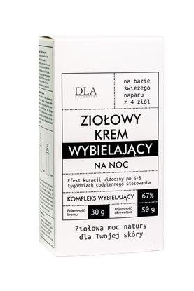 Obrazek Kosmetyki DLA | Ziołowy krem wybielający
