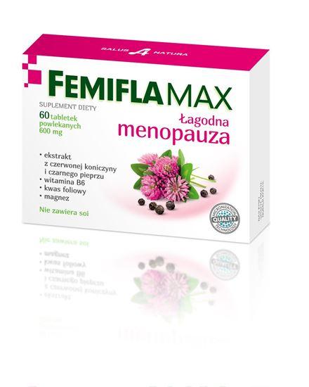 Obrazek Salus International   FemiflaMax - Łagodna menopauza 60 tabl.