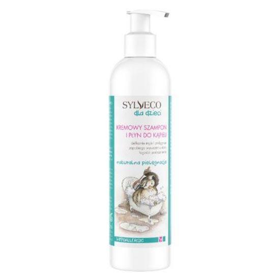Obrazek Sylveco dla Dzieci   Kremowy szampon i płyn do kąpieli