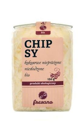 Obrazek Fresano | Chipsy kokosowe nieprażone niesłodzone BIO 150 g