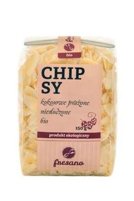 Obrazek Fresano | Chipsy kokosowe prażone niesłodzone BIO 150 g