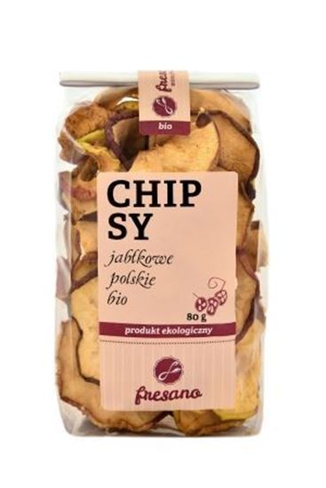 Obrazek Fresano | Chipsy jabłkowe polskie BIO 80 g