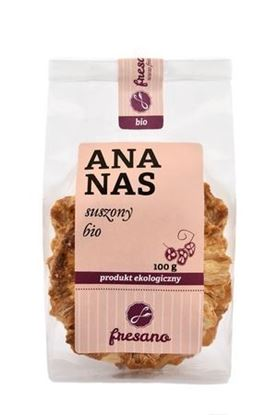 Obrazek Fresano | Ananas suszony BIO 100 g