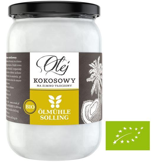 Obrazek Nomak | Bio Olej kokosowy Olmuhle Solling - 500 ml