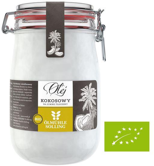 Obrazek Nomak | Bio Olej kokosowy Olmuhle Solling - 1000 ml
