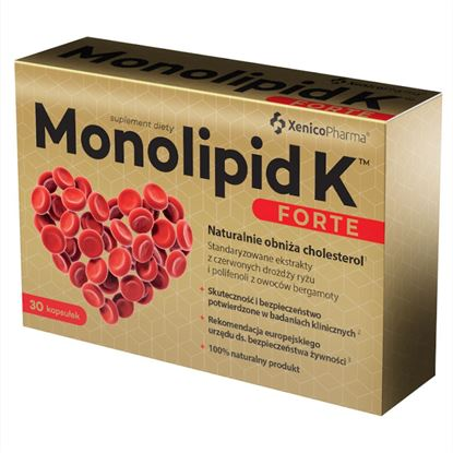 Obrazek Xenico Pharma   Monolipid K® FORTE 30 kaps.