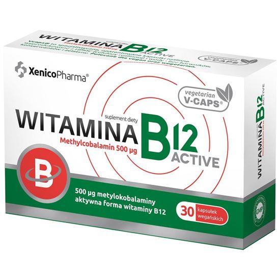 Obrazek Xenico Pharma   Witamina B12 Active 30 kaps.