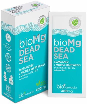 Obrazek Biofarmacja | bioMg DEAD SEA - bioMAGNEZ  z wit. B6 i B12
