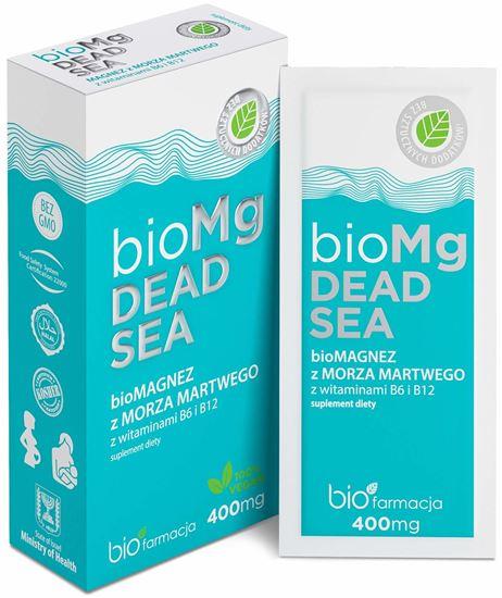 Obrazek Biofarmacja   bioMg DEAD SEA - bioMAGNEZ  z wit. B6 i B12