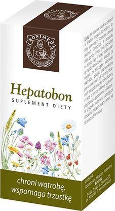 Obrazek Bonimed | HEPATOBON 60 kaps. - chroni wątrobę, wspomaga trzustkę