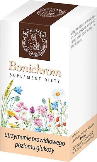 Obrazek Bonimed | BONICHROM 30 kaps. - utrzymanie prawidłowego poziomu glukozy