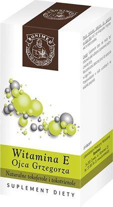 Obrazek Bonimed | WITAMINA E OJCA GRZEGORZA 60 kaps. - naturalne tokoferole i tokotrienole