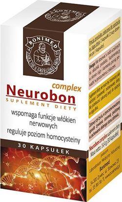 Obrazek Bonimed | NEUROBON Complex 30 kaps. - wspomaga funkcje włókien nerwowych