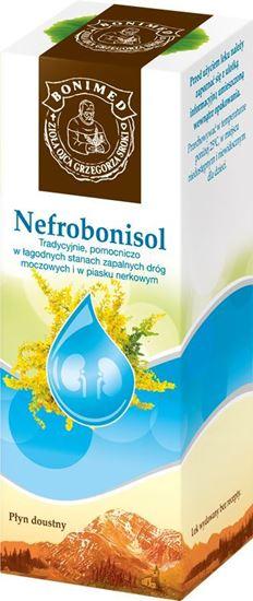 Obrazek Bonimed   NEFROBONISOL Krople moczopędne, odtruwające - lek roślinny 100g