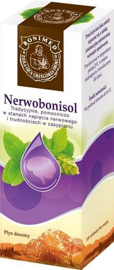 Obrazek Bonimed   NERWOBONISOL Krople ziołowe Ojca Grzegorza Sroki - lek roślinny 100g