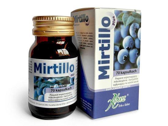 Obrazek Aboca   MIRTILLO PLUS - wspomaga funkcjonalność mikrokrążenia i wzroku 70 kaps.