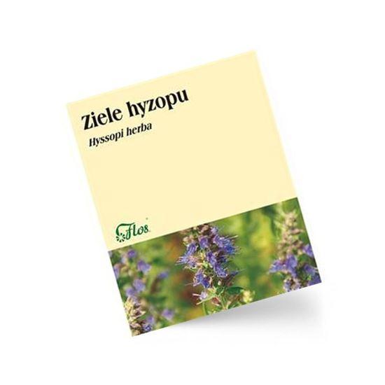 Obrazek Flos   ZIELE HYZOPU Hyssopi herba 50g