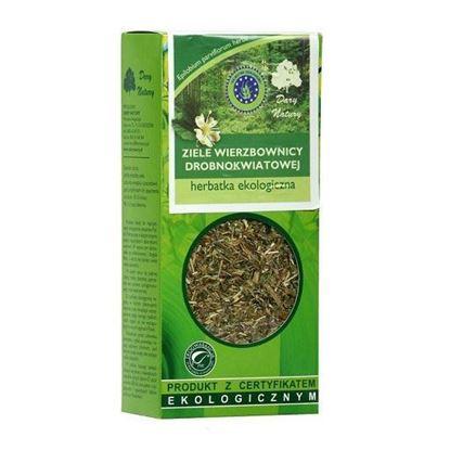 Obrazek Dary Natury | Herbatka ekologiczna ZIELE WIERZBOWNICY DROBNOKWIATOWEJ 50g