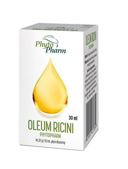 Obrazek Phytopharm | OLEUM RICINI - Olej rycynowy 100g