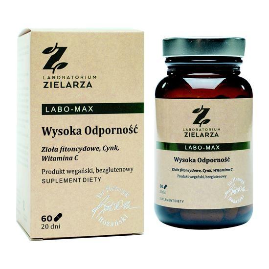 Obrazek Laboratorium Zielarza | LABO-MAX Wysoka Odporność 60 kaps.