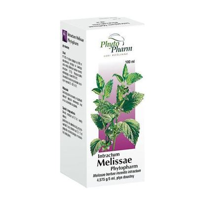 Obrazek Phytopharm | INTRACTUM MELISSAE PHYTOPHARM - wyciąg z ziela melisy 100ml