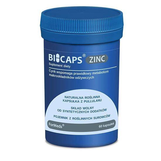 Obrazek ForMeds   BICAPS® ZINC (Cynk) 60 kaps.