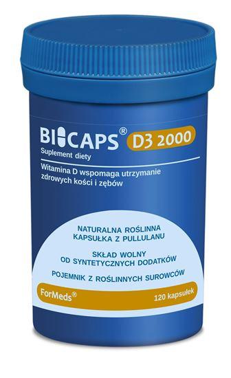 Obrazek ForMeds | BICAPS® D3 2000 (witamina D) 120 kaps.