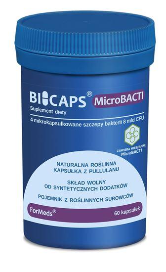 Obrazek ForMeds | BICAPS® MicroBACTI (4 mikrokapsułkowane szczepy bakterii) 60 kaps.