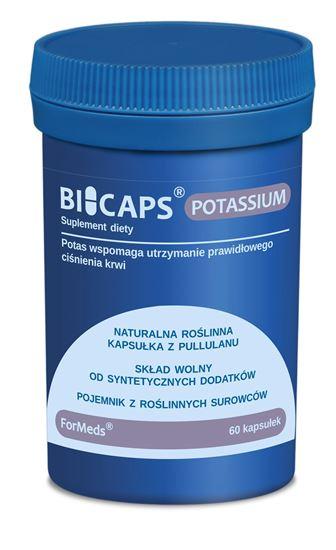 Obrazek ForMeds   BICAPS® POTASSIUM (cytrynian potasu) 60 kaps.