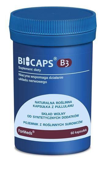Obrazek ForMeds   BICAPS® Witamina B3 (niacyna) 60 kaps.