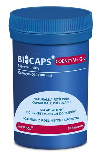 Obrazek ForMeds   BICAPS® COENZYME Q10 (koenzym q10) 60 kaps.