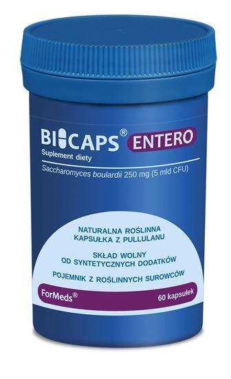 Obrazek ForMeds   BICAPS® ENTERO (drożdże Saccharomyces boulardii) 60 kaps.