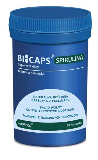 Obrazek ForMeds   BICAPS® SPIRULINA (spirulina hawajska) 60 kaps.