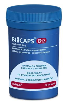 Obrazek ForMeds | BICAPS® B12 (witamina B12) 60 kaps.