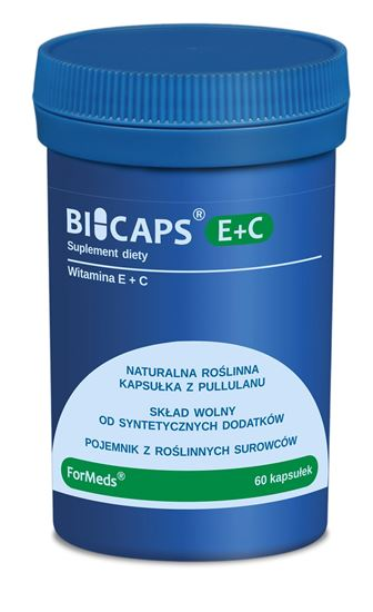 Obrazek ForMeds   BICAPS® E+C (witamina E+C) 60 kaps.