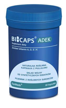 Obrazek ForMeds | BICAPS® ADEK (zestaw witamin A, D, E i K) 60 kaps.