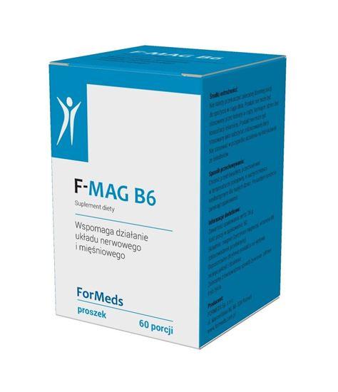 Obrazek ForMeds | F-MAG B6 (cytrynian magnezu + wit. B6) proszek 51g
