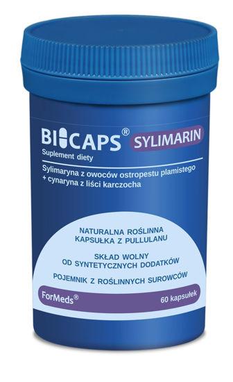 Obrazek ForMeds | BICAPS® SYLIMARIN (sylimaryna z owoców ostropestu ) 60 kaps.