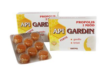 Obrazek Bartpol | API GARDIN FORTE Propolis i miód 16 pastylek do ssania